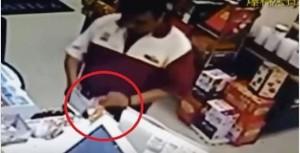 無視店內監視器 超商店員監守自盜偷捐款
