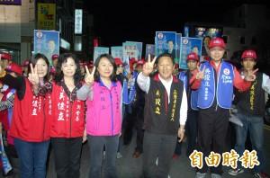 鄺麗貞登記選台東縣長  被指議長當不了「抗議式」參選
