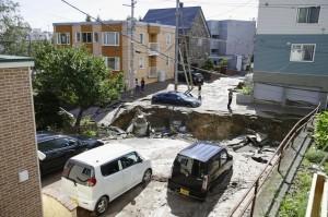 北海道6.7強震後餘震不斷  氣象廳:近日需注意強烈餘震