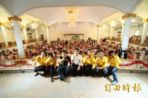 時代力量新竹募款餐會 力挺縣市議員參選人