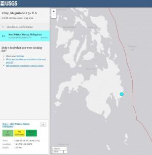 菲律賓民答那峨島6.1強震 震源深度僅10公里