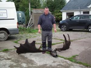 史上最大的鹿滅絕數千年 驚人巨大鹿角出土