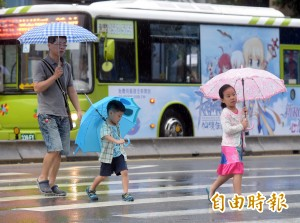 入秋首波鋒面報到!全台降溫有雨、4縣市大雨特報