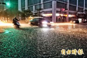 雨炸台北狂淹水 水利處:已消退