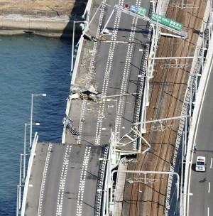 關西機場連外鐵路被撞歪50cm 修復時間約1個月