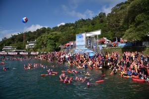 山竹颱風攪局 日月潭萬人泳渡是否如期舉行受關注