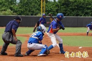 桃園盃三級棒球錦標賽開幕 新明國中逆轉贏韓國