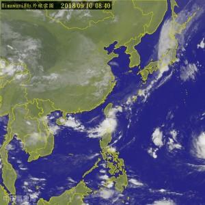 輕颱「百里嘉」最快今形成 外圍環流影響花東慎防豪雨
