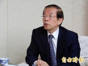 譴責踹慰安婦像日男 謝長廷:反對任何破壞台日友誼行為