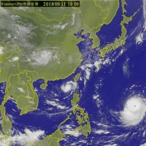 「山竹」轉強颱週六最接近!鄭明典:它還有增強空間