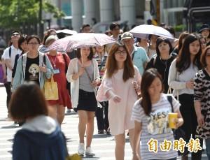 明全台晴朗炎熱 「山竹」升級為超級颱風 預計週五影響台灣