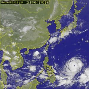 「山竹」週六最接近台灣  恐成今年西太平洋最強颱