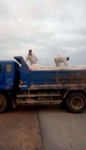 網傳中國天津18噸豬瘟肉送江西販賣 半途被查獲