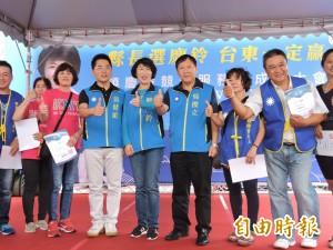 饒慶鈴競選服務處成立 吳俊立力挺「史上最強候選人」