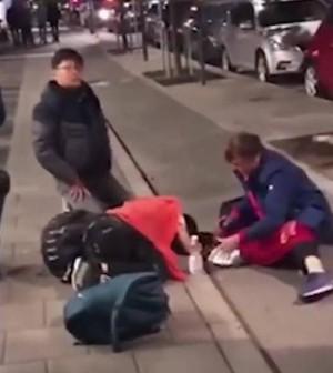 中客大鬧斯德哥爾摩 瑞典華人怒斥:丟臉!