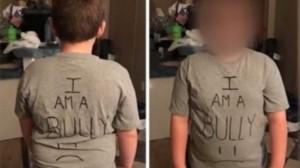 遏止霸凌!美國媽要霸凌兒穿「我是霸凌者」T恤上學