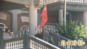 囂張沒落魄的久!「五星廟」中國國歌伴阿彌陀佛將絶響