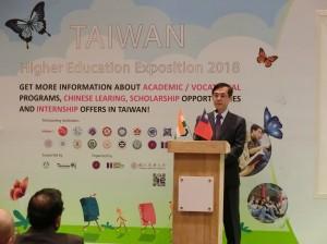 前進印度辦台灣高等教育展  我17所大學向印度學生招手