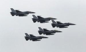 美宣布售台F16等戰機備件 外交部:有助台海和平穩定