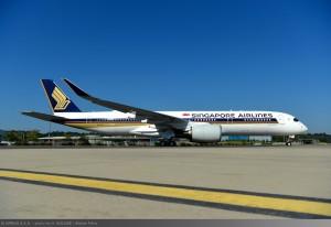 首架A350超長程客機 10/11起飛全球最遠新加坡─紐約航線