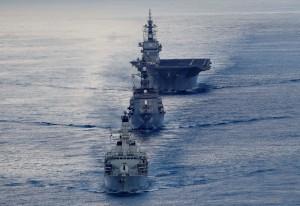 英、日海軍雙劍合璧!印度洋軍演劍指中國南海
