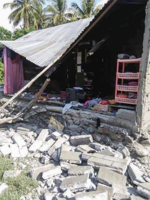 印尼晚間規模7.5強震 海嘯警報解除