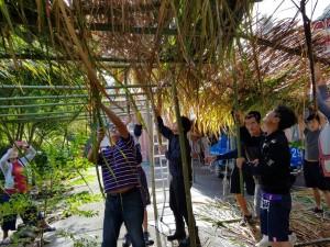 泰雅成年禮 驚喜見搭竹屋、設陷阱、傳統織布