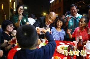 蘇貞昌赴餐會 見小朋友就重申要建兒童博物館