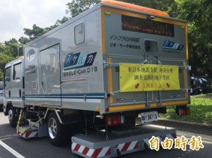 日本透地雷達車二度巡查高雄道路 找到2處隱藏路坑