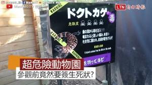 日本超危險動物園! 竟然要簽生死狀才能參觀?