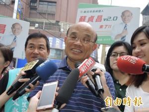 蘇貞昌重砲轟侯 批國民黨跟黑道勾結 「罄竹難書」