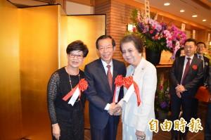 安倍晉三之母 連2年參加駐日處國慶酒會