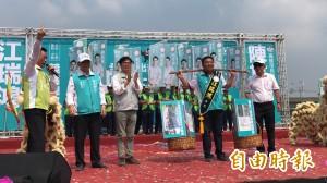 陳其邁大力輔選開支票:當選後將仁武區興建國民運動中心
