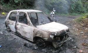 孩子、熱木炭獨留車內 引發火災險喪命