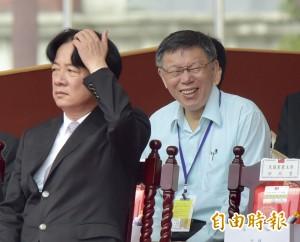 國慶大會坐洪耀福隔壁重建信任?柯P:要也不會在鏡頭前聊
