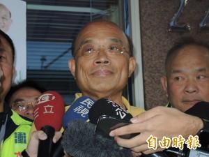 政院宣布停建深澳電廠 蘇貞昌露面說話了!
