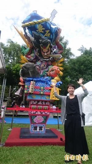 日本睡魔來了! 麻豆總爺和風文化祭開幕