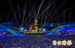 衛武營開幕首夜 眾人的派對2萬人狂歡