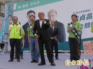 做了近8年副市長 蘇貞昌:侯不熟市政難怪不敢辯論