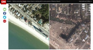 驚人!颶風麥可摧毀佛州 對比圖清楚看出破壞力...