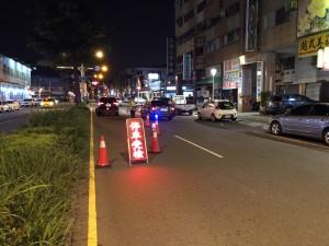 加強取締酒駕   高市警方鎖定9條道路