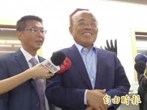 侯友宜官網沒政見發表 蘇貞昌:很對不起市民