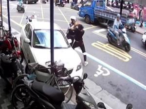 獨家》開車衝騎樓非首次! 競速撞死人共犯酒駕畫面曝光