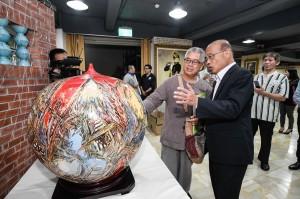陶瓷產業後援會成立 蘇貞昌:打造鶯歌成為「工藝首都」
