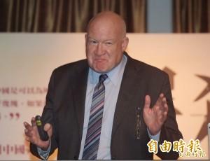 再批柯文哲 葛特曼:這對台灣未來很重要