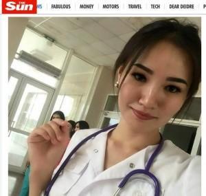 悚! 正妹醫師拒絕男友求婚  慘遭割喉、砍頭