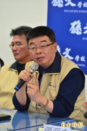 看民進黨、喜樂島週六南北「反併吞」 孫文學校︰內鬥劇烈