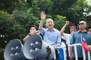 民進黨高雄遊行 韓國瑜:又走回拚政治老路