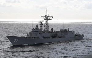 澳洲軍艦通過台灣海峽! 美官員暗示:反對中國對台主張