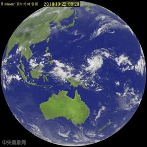 十月颱!「玉兔」颱風生成 未來強度不容小覷